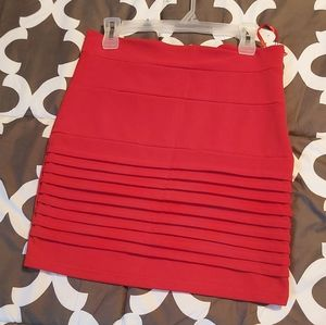 3/$35  RED SKIRT Says LG but fit Medium